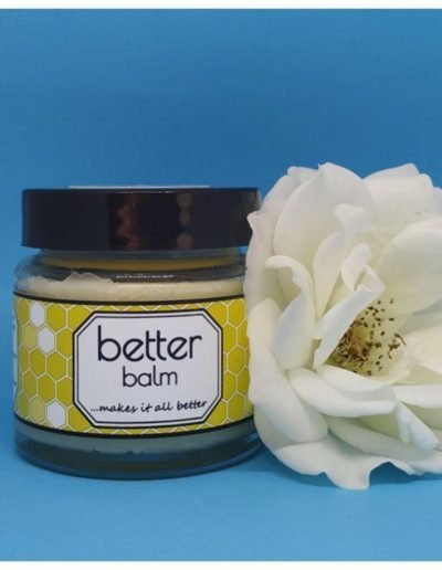 Better Balm natural skin balm may relieve symptoms of dry skin and eczema